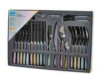 Amefa Eclat Cutlery Set - 24 Piece Pastels